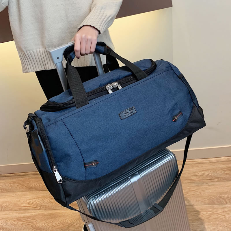 Women's Travel Bag Men Outdoor Travel Duffle Dags Large Capacity Luggage Handbag Waterproof Shoulder Crossbody Bag Business Tote
