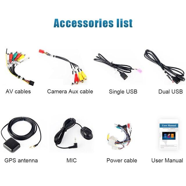 """9 """"Android 9,0 GPS para coche Radio Subaru Forester navegación 2008, 2009, 2010, 2011, 2012 la unidad 4G 32G Octa Core"""