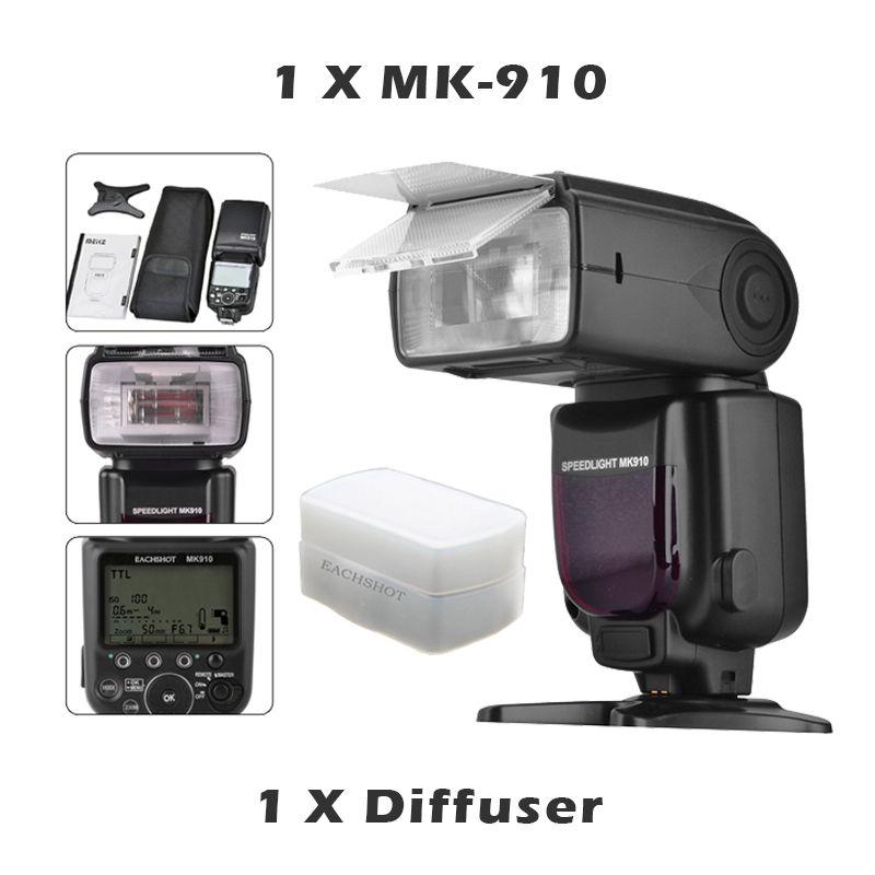 Meike MK910 MK-910 i-TTL Flash Shoe mount Speedlite HSS for Nikon SB900 D800 D810 D7000 meike mk 910 mk910 i ttl 1 8000s hss sync master