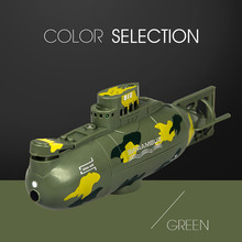 Remote control submarine toy 2019 NEW Mini RC Nuclear Submarine High Speed Remote Control Drone Childrens Gift 6.4