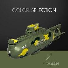 Telecomando submarine giocattolo 2019 NUOVO Mini RC Sottomarino Nucleare Ad Alta Velocità di Telecomando Drone Regalo dei bambini 6.4