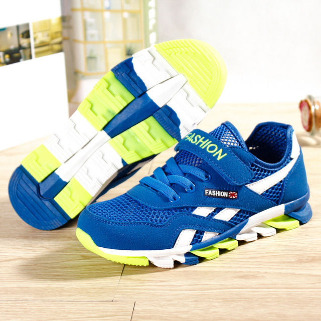 07846a41d8e8ee 3-16 Years Summer News Kids Shoes Single-layer Shoes Air Mesh Kids Sandal  Shoes Children Running Shoes Kids Sneakers TTH 8168