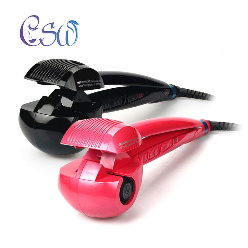 Csw Quick Fixed Hairstyle Automatic Hair Curle Curling Irons Ceramic