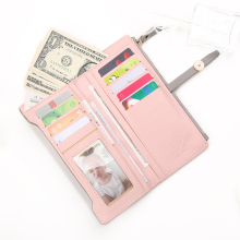 Women's PU Leather Clasp Wallet