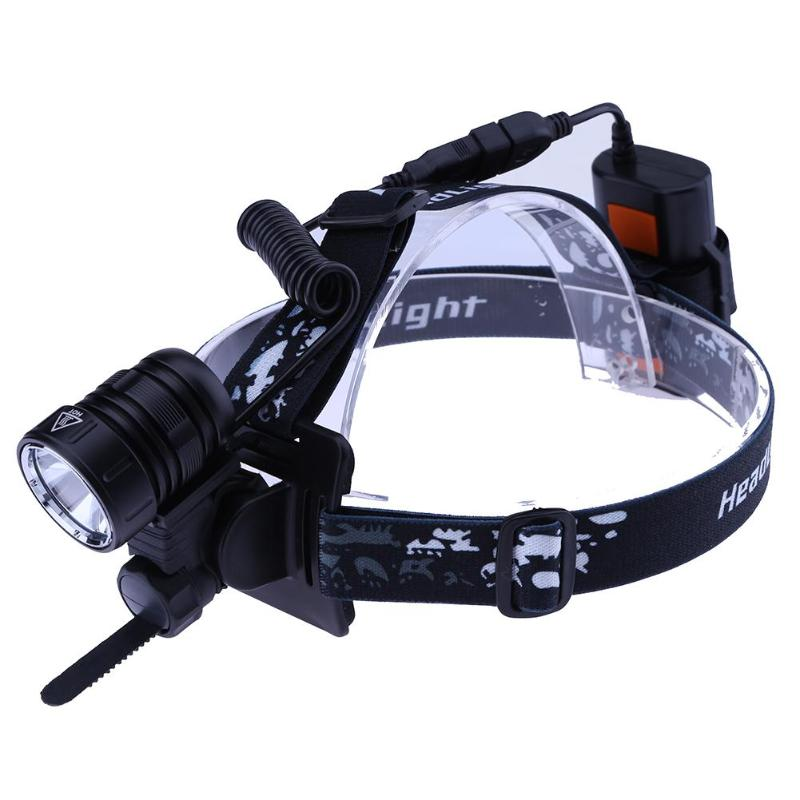 1000LM Ultra Bright Aluminum Bicycle Cycling Headllamp Front Light Portable USB Recharge ...