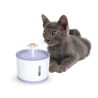 Automatic Cat Dog Electric Pet Drinking Fountain Pet Bowl Drinking Water Dispenser Drink Filter Cat Feeding Supplies Product