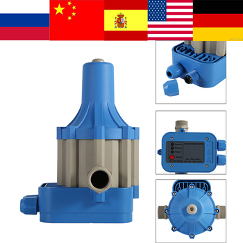 110v Automatic Water Pump Controller Electric Electronic Switch Control Water Pump Pressure Controller bomba de agua 50-60Hz цена 2017