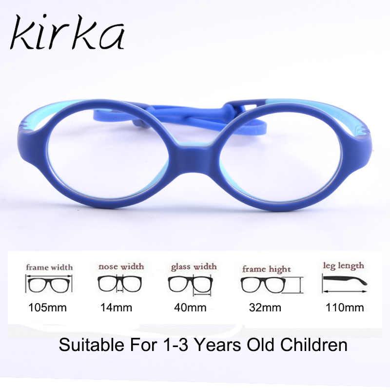 6f9796be7ff1 ... Kirka 2019 Kids Glasses Child Cute Glasses Frame Spectacle Frames For Children  Prescription Myopia Small Children