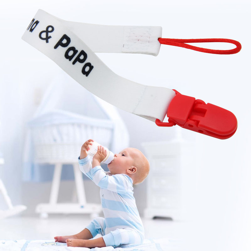 Hot Baby Boy Girl Pacifier Soother Nipple Leash Strap Chain Newborn Clip Holder Chupeta Pacifier Clips