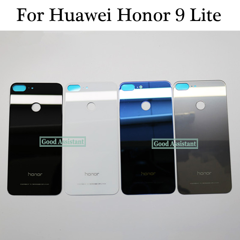 Original For Huawei Honor 9 Lite / Honor 9 Youth Edition Back Battery Cover Door Housing Case Rear Glass Parts Free Shipping