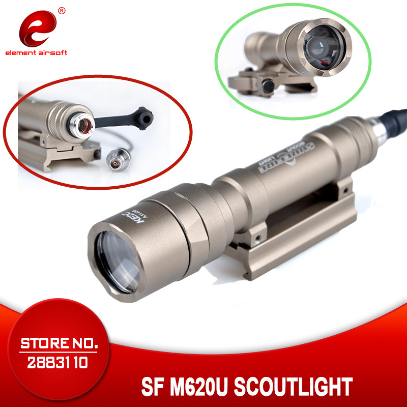Element Airsoft Weapon SF M620U Tactical Flashlight  Full Version 500Lumen Weapon Pistol Lights EX357 Waterproof And Shockproof Element Airsoft Weapon SF M620U Tactical Flashlight  Full Version 500Lumen Weapon Pistol Lights EX357 Waterproof And Shockproof