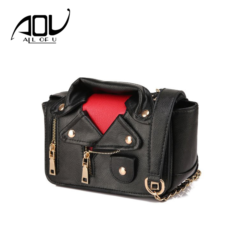 Brand Designer Motorcycle Bags Women Clothing Shoulder Jacket Messenger Bag Women Leather Handbags Sac A Main Femme De Marque