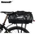 Rhinowalk велосипедные сумки для багажа 20л полный водонепроницаемый задний багажник для велосипеда велосипедное седло для хранения многофункц...
