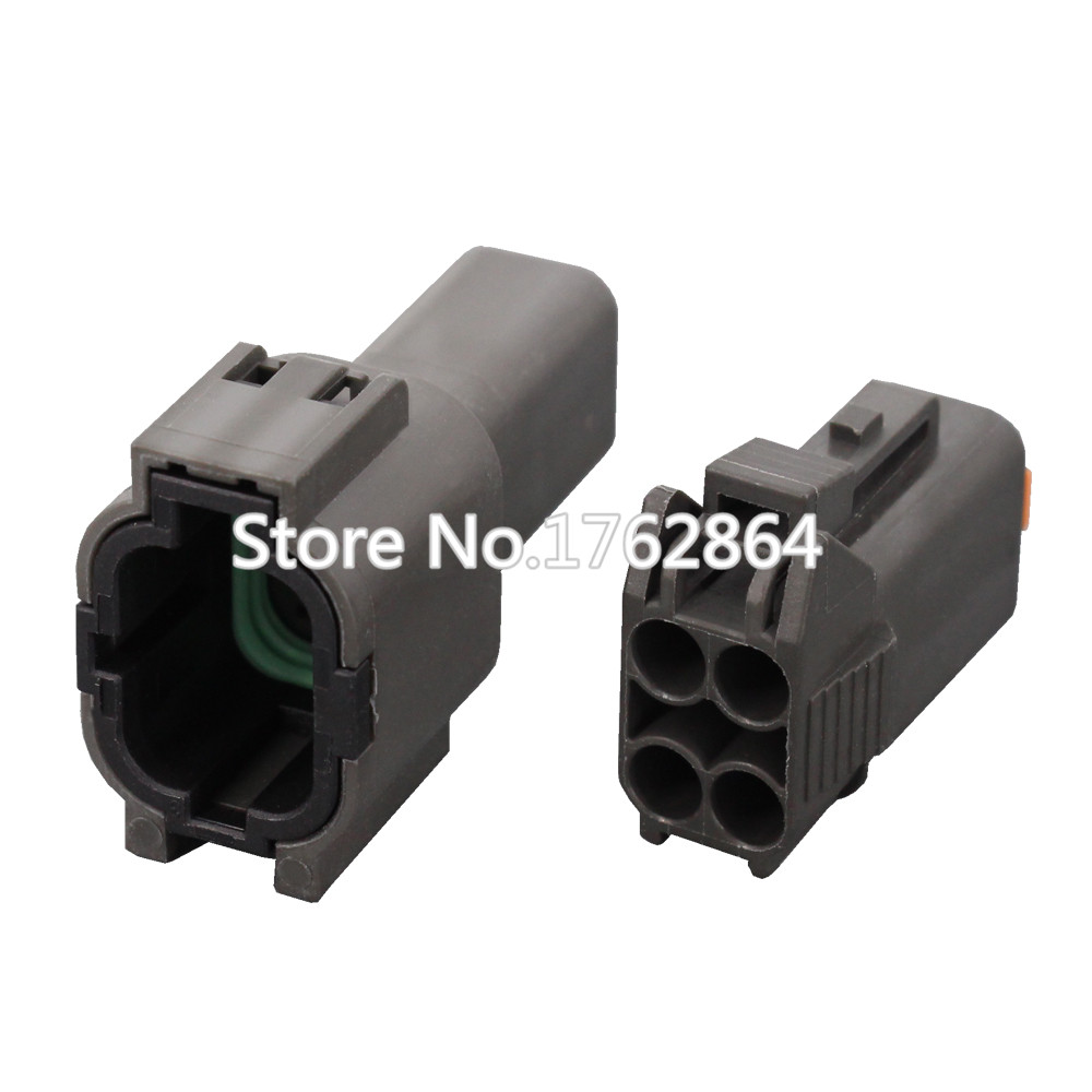 4 Pin 1 5 Series Automotive Connectors Waterproof connector plastic With terminal DJ7044C 1 5 11 21 4P in Connectors from Lights Lighting