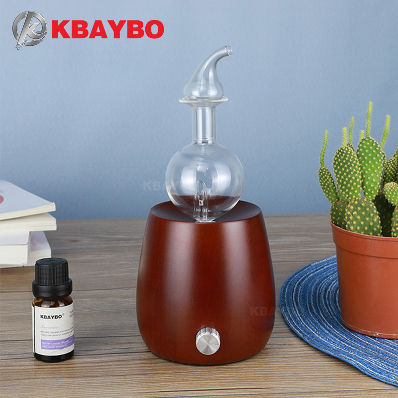 Ultrasonic Cool Mist Humidifier Aroma Essential Oil Diffuser Wood Grain With 7 Color LED LightsAromatherapy Mist Maker for Home цена