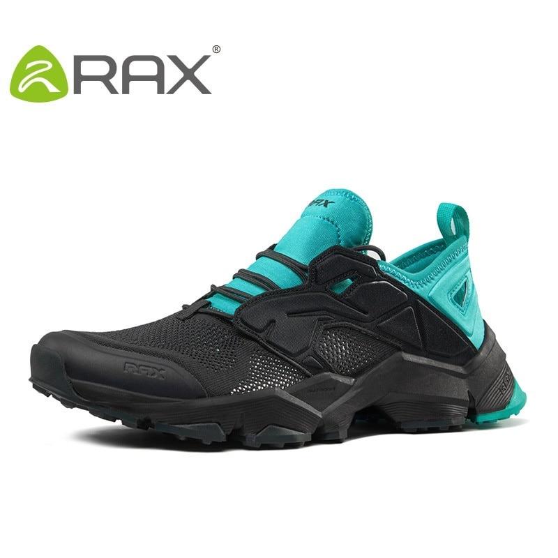 Rax Women Hiking Shoes Men Walking Shoes Breathable Footwear Anti - Slip Outdoor Lovers Climbing Shoes B2803 waterproof hiking shoes breathable men sneakers lace up anti slip outdoor travel walking sports shoes mans footwear xyd118