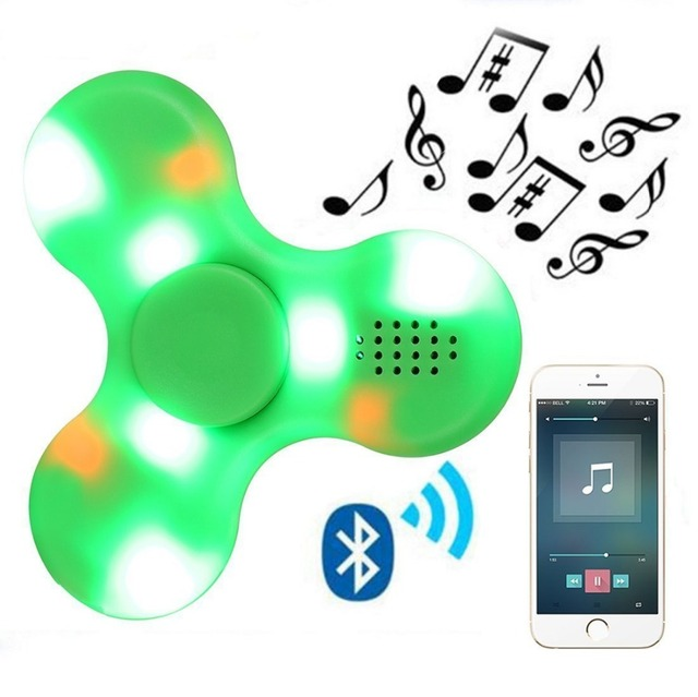 Bluetooth Speaker Finger Fidget Music Spinner With