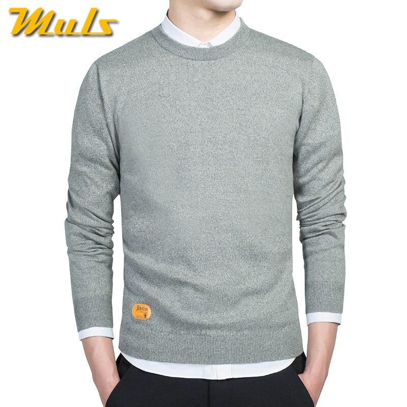 promo code 38a70 a11a8 US $15.79 43% OFF|Männlich pullover männer beste stil O hals herren  pullover MULS marke pullover jersey für mann herbst winter 4XL strickwaren  kleid ...