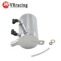 VR RACING 19mm 3 4 BARB ALUMINIUM OIL CATCH CAN BREATHER TANK RESERVOIR VR TK3201