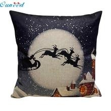 Hot High Quality Christmas Sofa Bed font b Home b font Decoration Festival Pillow Cushion 810