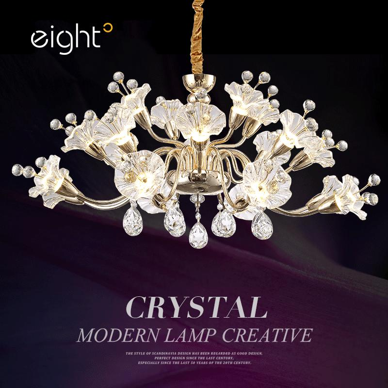Creative personality chandelier lamps Modern simplicity Restaurant hanging lights Bedroom lights chandeliers luxury brand wallet male mens leather card holder business billfold zipper purse wallets men coin clutch carteira masculina zer