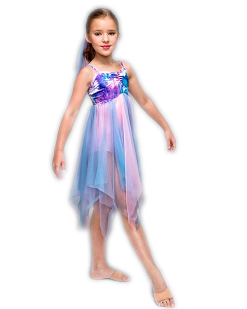 Hot Sale Kids Elsa Dress Performance Dance Costumes Professional Ballet Elegant Child Girl Princess Tutu Dress Mixed Sizes