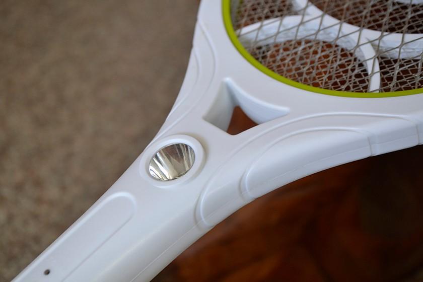 Runde stecker wiederaufladbare elektrische moskito klatsche hit