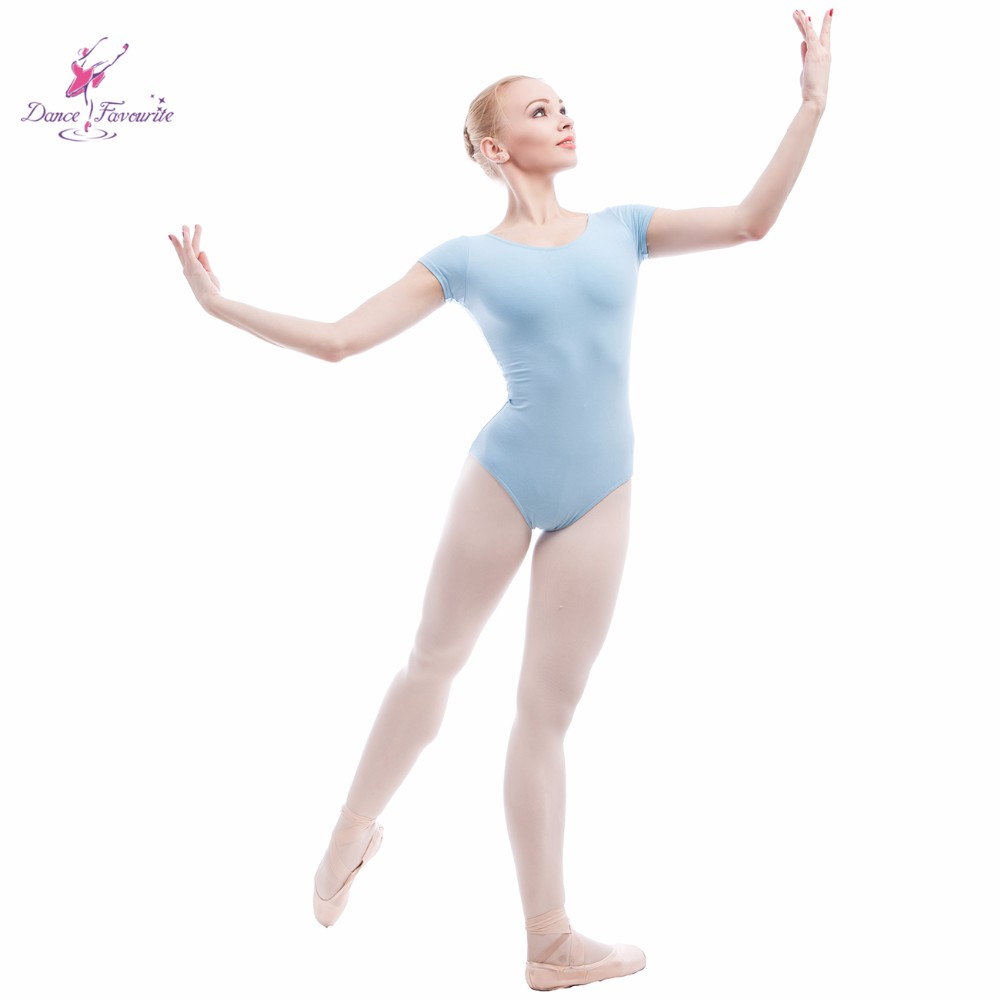 M Gymnastics Leotard  Child Size:XS Dance L. S