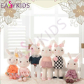 30cm Metoo Doll Lovely Stuffed Cloth Rabbit Doll Metoo Rabbit  plush toys Dolls For Baby Gifts Couple Cute Toys 6 Colour