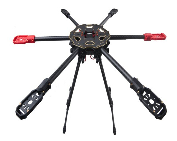 HML650 Quick Install Retractable Landing Gear for Tarot650 Tarot680PRO HMFS550 FPV Photography
