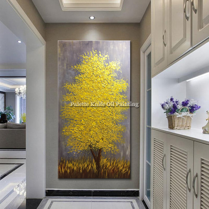 Obraz olejny na płótnie cuadros decoracion szpachla 3D tekstura - Wystrój domu - Zdjęcie 2