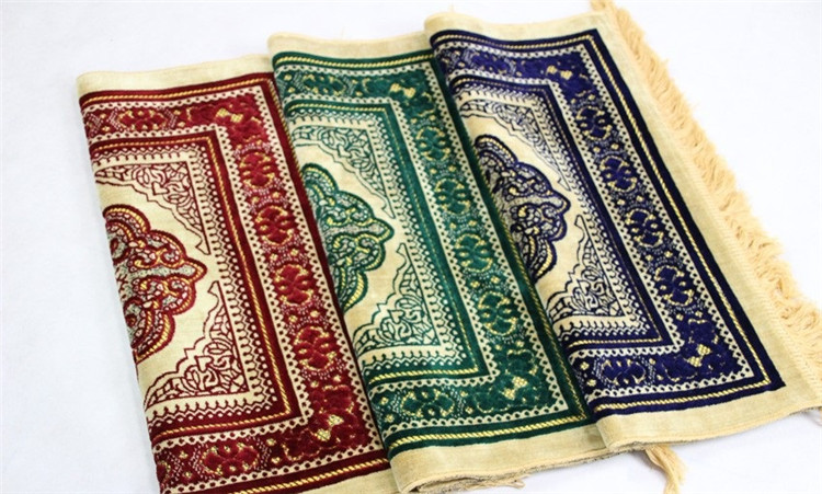 70*110cm Cashmere-Like Islamic Muslim Prayer Mat Salat Musallah Prayer Rug Tapis Carpet Tapete Banheiro Islamic Praying Mat PM20