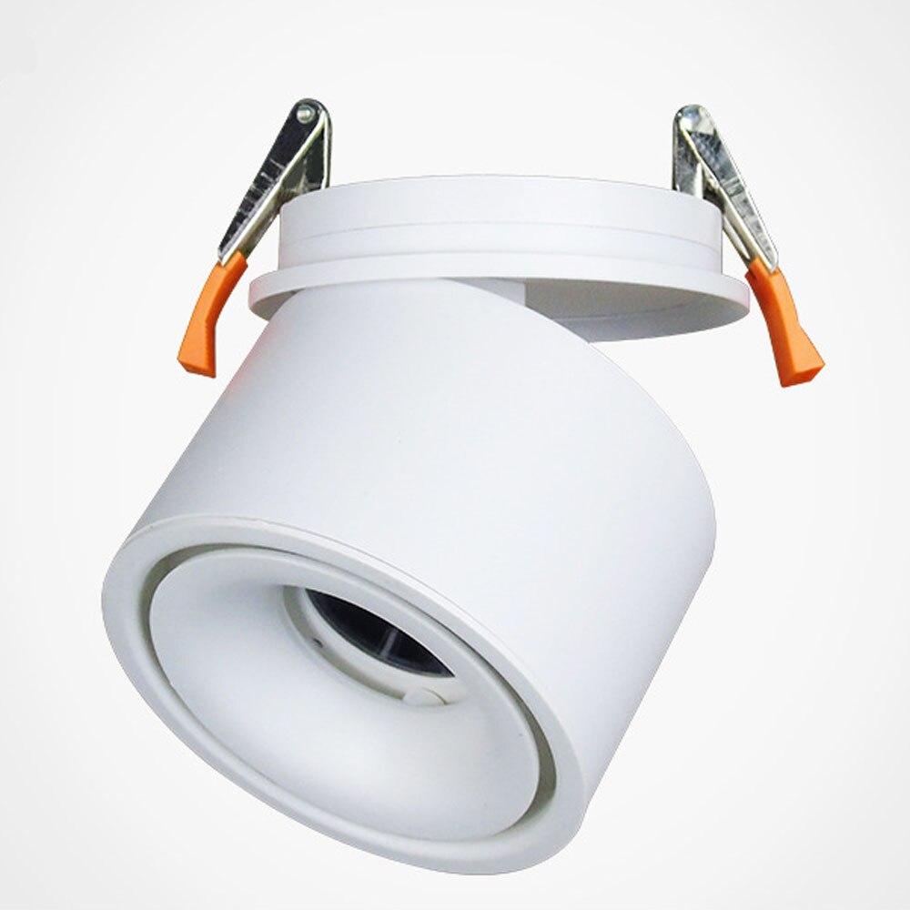 LED COB Angle adjustable ceiling light 5W 7W 10W 12W 15W Folding lamp spotlights LED Spot lamp Ceiling Lamp light 110v 220v