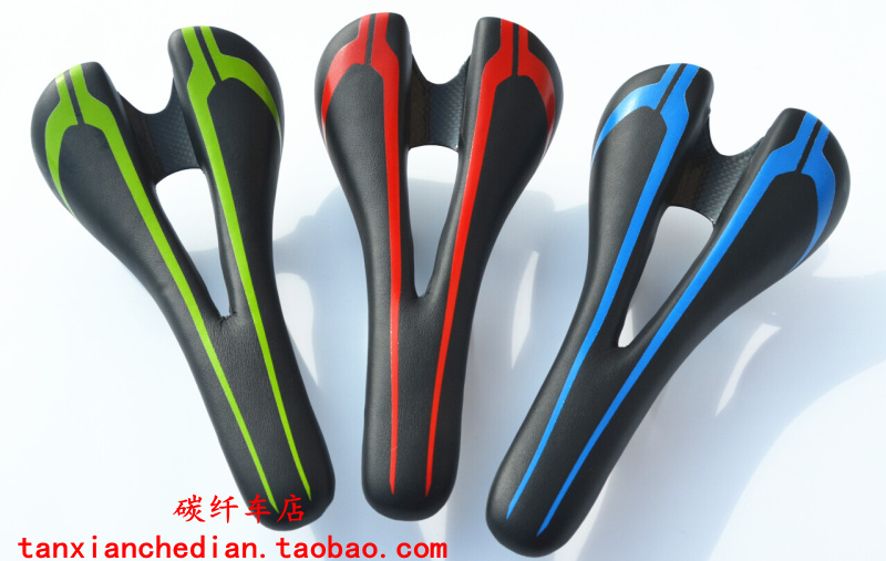 210g Carbon+leather+Ti Road Bicycle Saddle New Mountain Mtb Cycling Bike Seat Saddle Cushion Bike Parts Bicycle Accessories bikein high quality 3k carbon leather road bicycle saddle cycling mountain bike front seat mat mtb cushion super light 130g