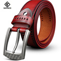 [KAITESICZI] retro men's belt 100% pure Cowhide belt 2017 new casual jeans belt fashion high quality brand belt