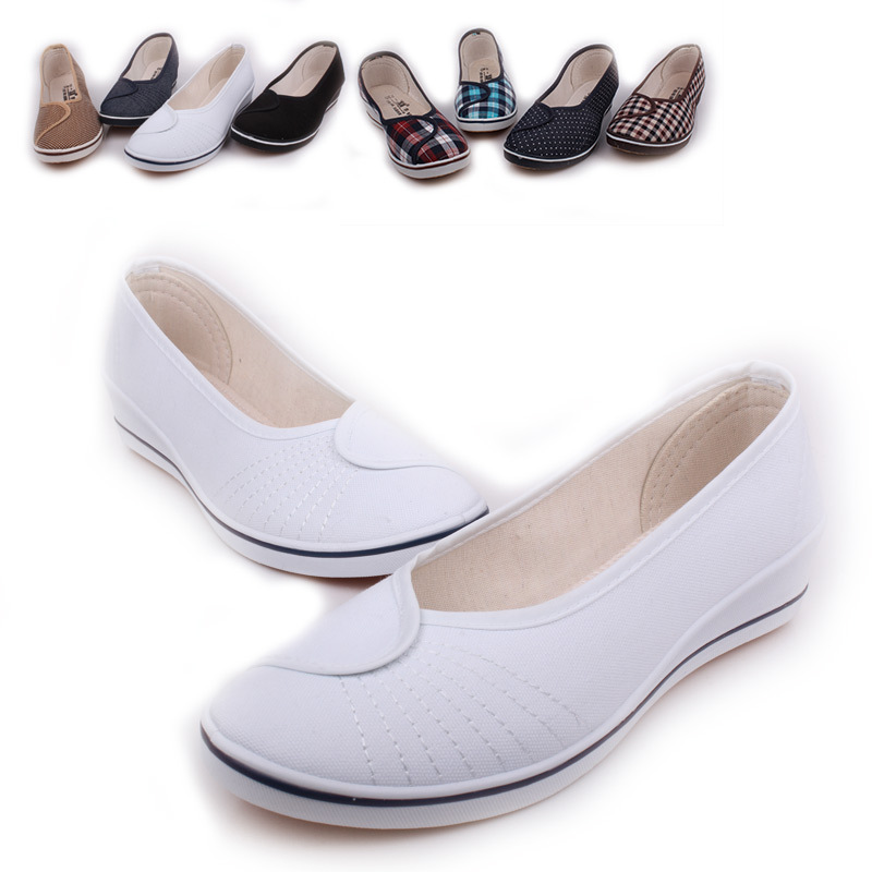 Women Flat Platform Shoes Woman Moccasin zapatos mujer Women's Platform Slip On For Ladies Shoes Casual Flats Moccasins vintage women flats summer new soft canvas embroidery shoes casual slip on bow dance flat sandals for woman zapatos mujer