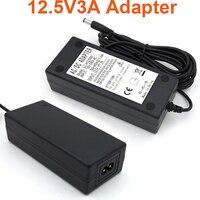 VORED 1 PCS Adaptador de Alimentação Adaptador de Desktop 12.5 V 3A 3000mA DC 5.5*2.5mm EUA/UE/REINO UNIDO/AU Plug com Cabo de 1 m AC Frete Grátis