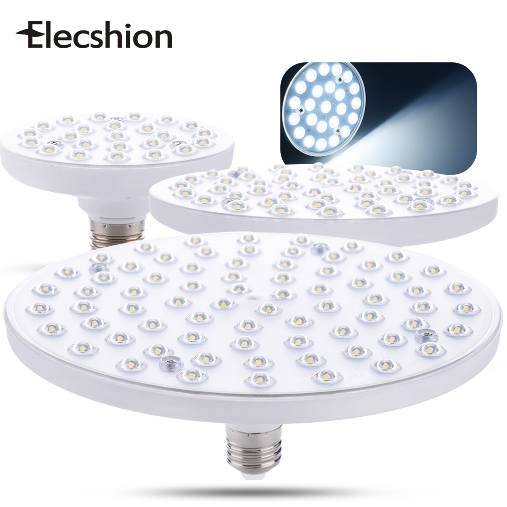 Elecshion UFO Led Grow Light E27 Spotlight LED Bulbs Tubes SMD 2835 Lampada Lighting For Home External Lamp Kitchen Fixtures