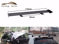 HB 110CM Universal Auto Racing Sytle Car Replacement Parts Spoilers & Wings Adjustable Light GT Aluminum Spoiler