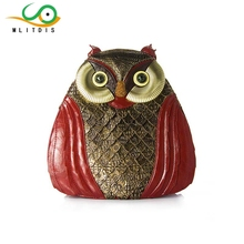 MLITDIS Ретро СОВА мешки плеча женщины рюкзак путешествия Creative Сумки искусство женский сова птица
