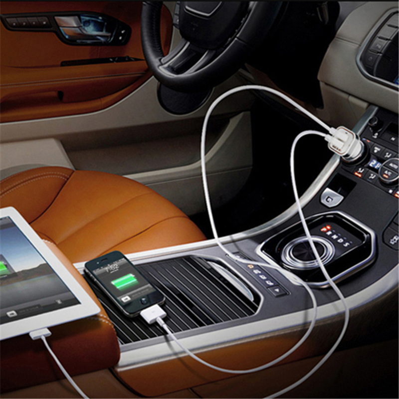 2.1A 1A կրկնակի ելքային USB մեքենայի - Բջջային հեռախոսի պարագաներ և պահեստամասեր - Լուսանկար 3