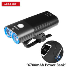 Bike-Light Cycling-Accessories Front-Lamp Gaciron Rechargeable Lumen 1800 Professional