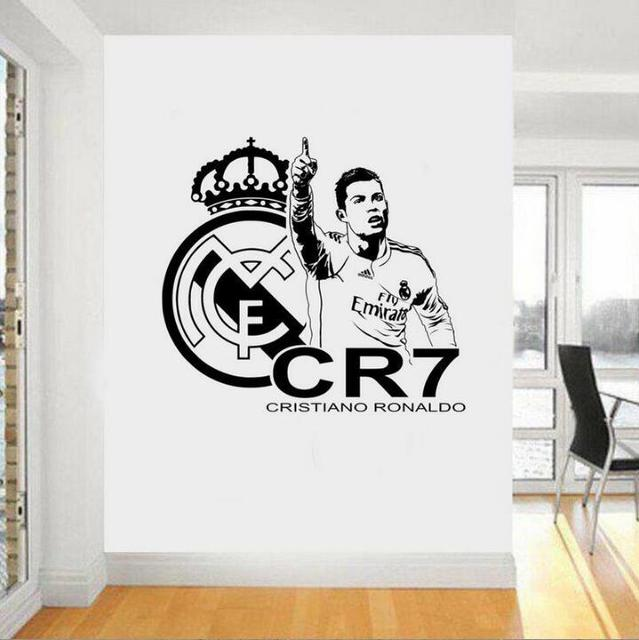 10pcs/ pack boy gift sticker football soccer player cristiano