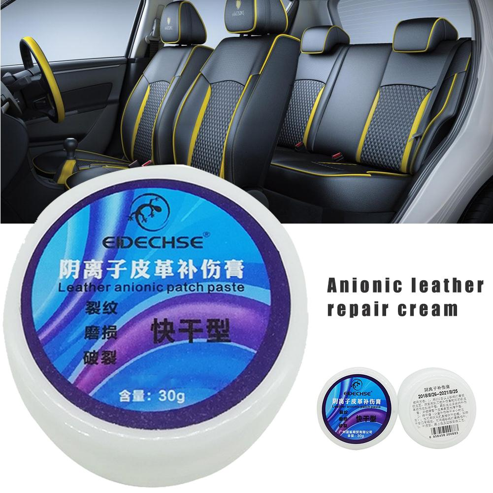 Auto Leather Vinyl Repair Kit Car Seat Sofa Coats Holes Scratch Cracks Rips Multi-function Quick Repair Cream Car Accessories image
