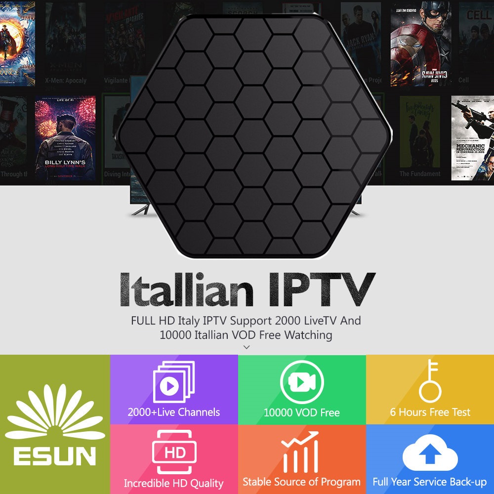 Home Audio & Video Symbol Of The Brand With1 Year Italy Iptv Included T95z Box Configured Spain French Germany Albania Ltaly Portugal Ex-yu Europe Xxx Set Top Box