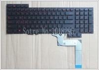 New For ASUS G751 G751J G751JL G751JM G751JT G751JY English Laptop Keyboard US Layout Black Color