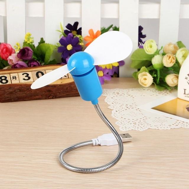 New Flexible Portable DIY Gadget USB Mini Cooling Fan Cooler For Laptop Desktop PC Computer Notebook