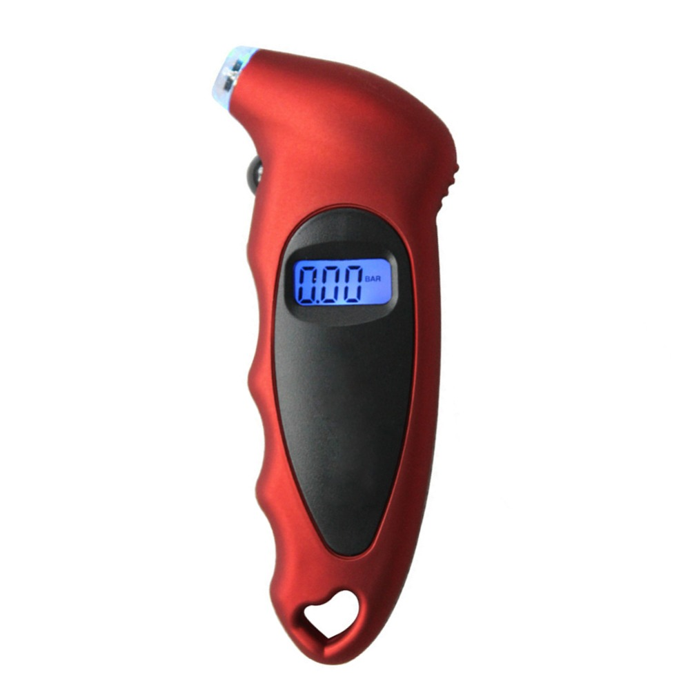New Universal Mini Car Motorcycle Bike LCD Digital Tire Gauge Diagnostic Tool Display Auto Digital PSI Tire Pressure Gauge Tool