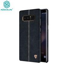 NILLKIN Englon Lederen Cover Voor Samsung Galaxy Note 8 Luxe Vintage Back Cover Telefoon Voor Samsung Note 8