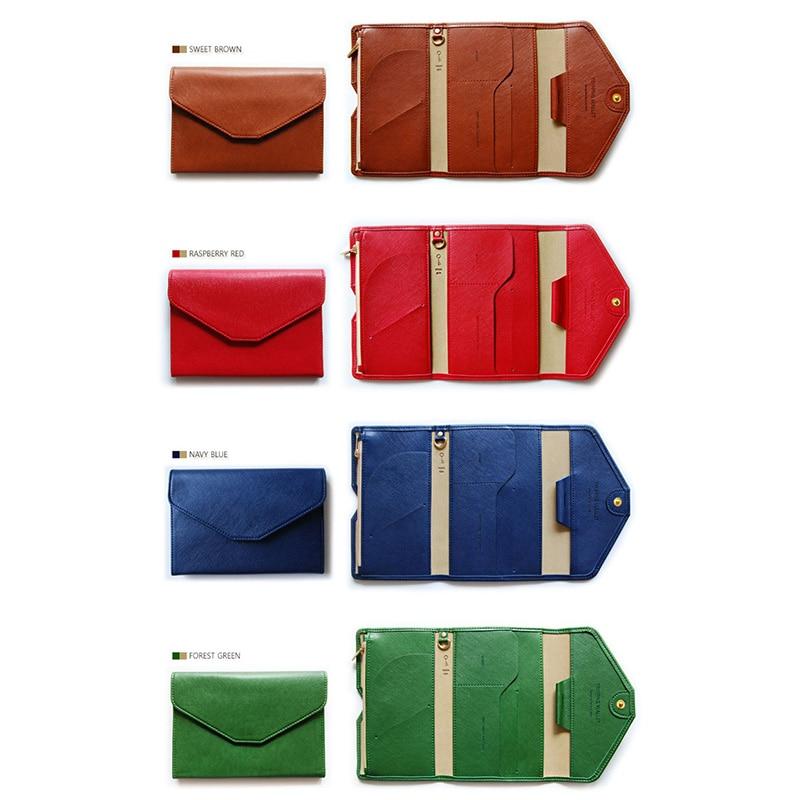 Travel Passport Cover Foldable Credit Card Holder Money Wallet ID Multifunction Documents Flight Bit License Purse Bag PC0045 (3)